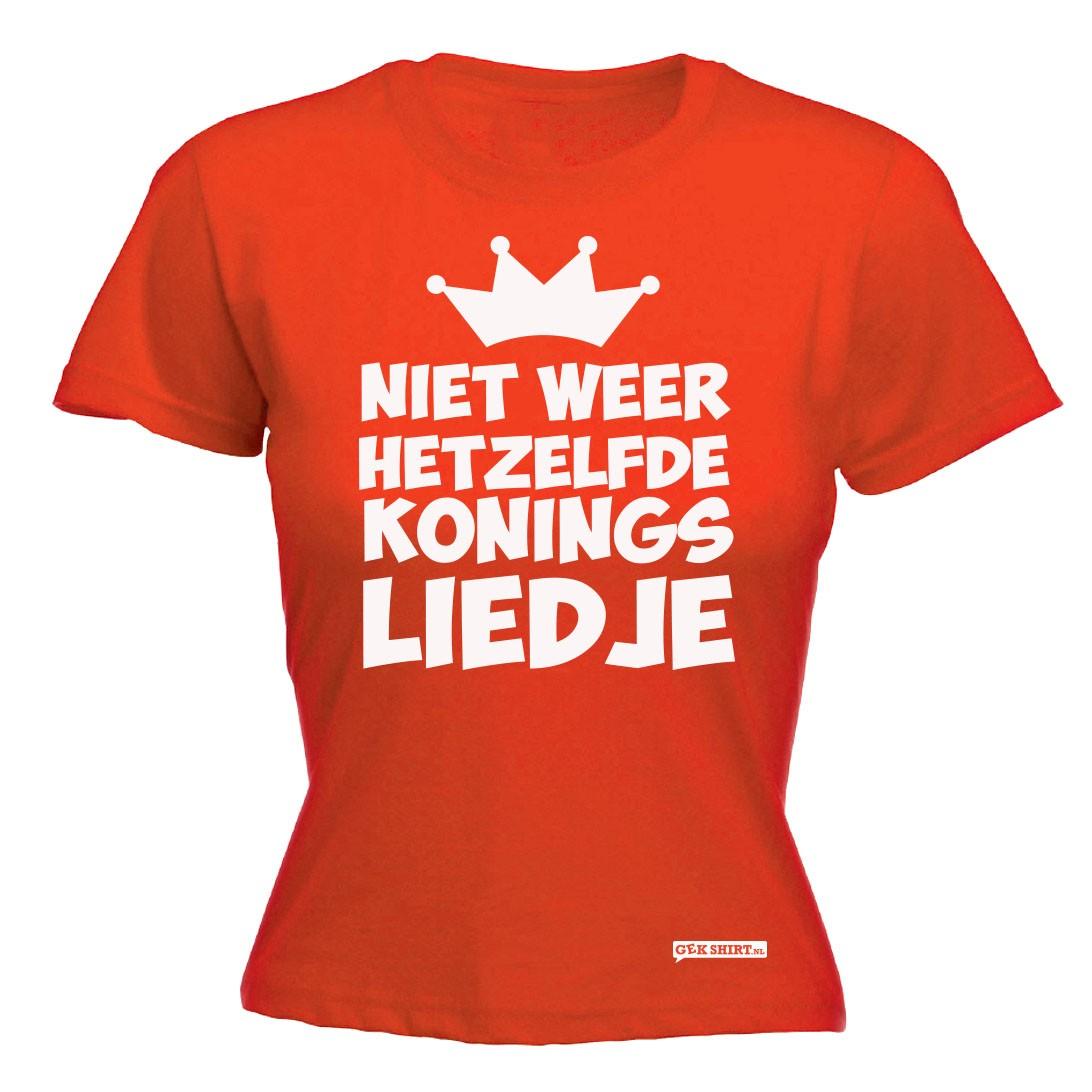 Koningslied dames shirt