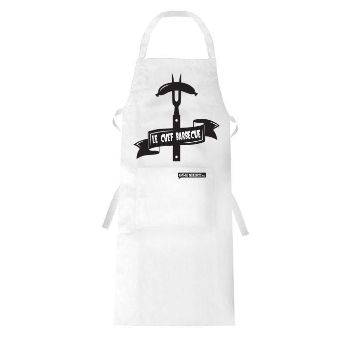 Le chef barbecue Barbecue schort