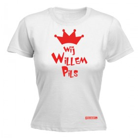 Wij Willem pils, koningsdag dames shirt