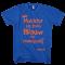 Nuchter en toch Blauw op Koningsdag shirt