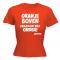 Oranje boven brazilian wax onder Dames wk shirt